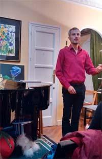 Denis Chevallier, Concierto dedicado al compositor y cantante francés en el Espacio de Música Pepita Cervera