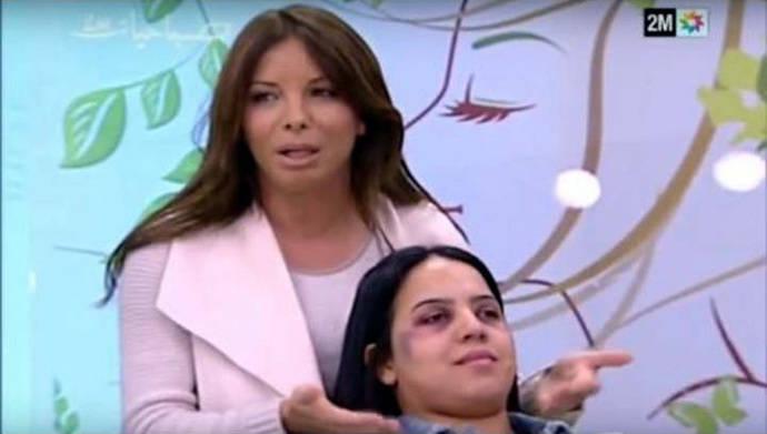 Indignación por 'tutorial' de maquillaje para mujeres maltratadas emitido en la TV pública de Marruecos