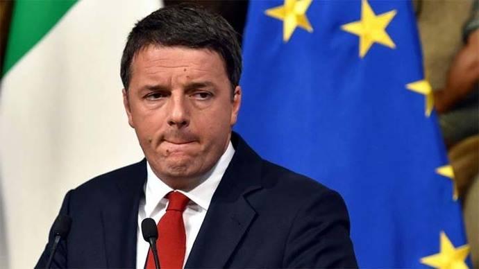 Renzi reconoce la derrota y anuncia su dimisión