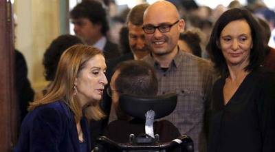 Unidos Podemos protestará formalmente tras quedar Bescansa y Echenique fuera de los actos por la Constitución