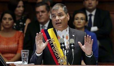 Rafael Correa convoca a los ecuatorianos a consulta sobre paraísos fiscales