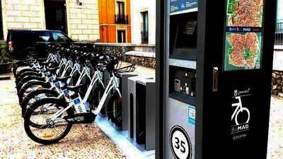 El Ayuntamiento de Madrid estudia financiar Bicimad con publicidad en las bicis