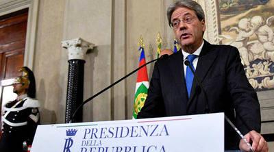 Designan a excanciller Paolo Gentiloni como primer ministro de Italia