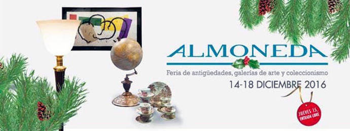 M. Luisa Valero, Carlos Ballesteros y Ana Muñoz, entre los artistas presentes en Almoneda Navidad 2016