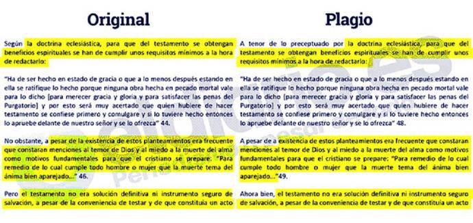 El profesor plagiado que defendió y exculpó al rector de la Rey Juan Carlos también ha plagiado