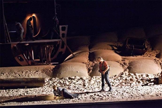 """""""El holandés errante"""" en el Teatro Real de Madrid"""