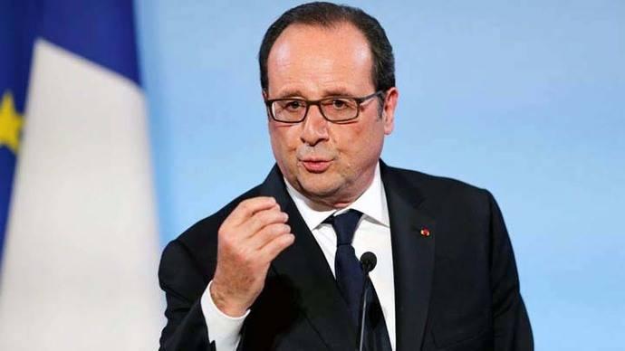 El actual presidente de la República Francesa, François Hollande