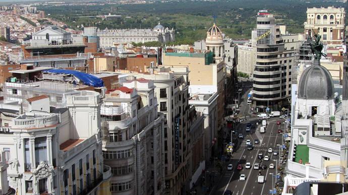 Empresarios madrileños se declaran a favor de la peatonalización permanente de la calle Gran Vía