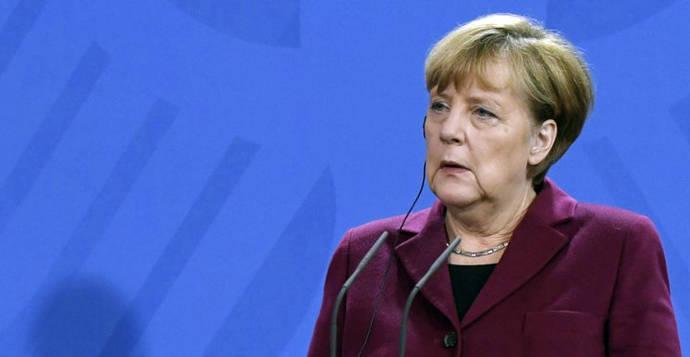 Merkel afirma que 'estamos de luto por los muertos'