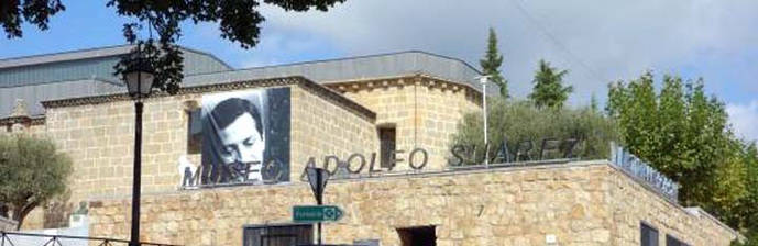 """""""Arte y Poder"""", conferencia en el Museo Adolfo Suarez y la Transición en Cebreros"""