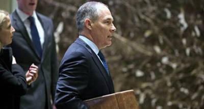 Un escéptico del cambio climático, designado por Trump como director de agencia medioamiental