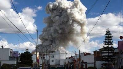 México: Las 2 posibles causas de las explosiones de pirotecnia