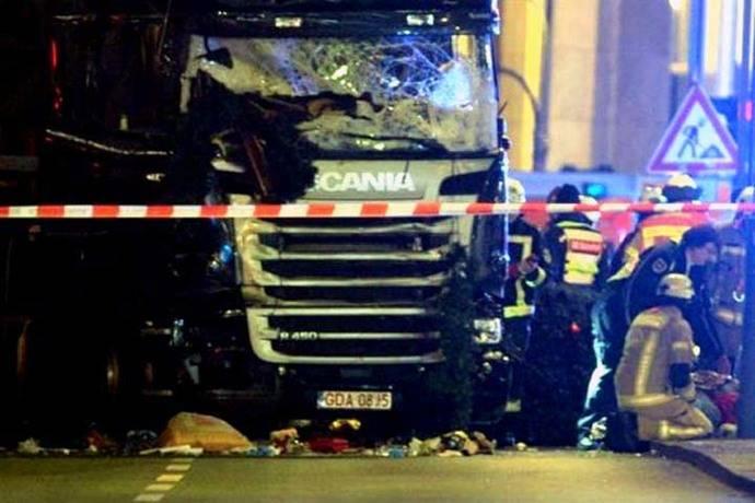 El sospechoso del atentado en Berlín era investigado por amenaza contra el Estado alemán