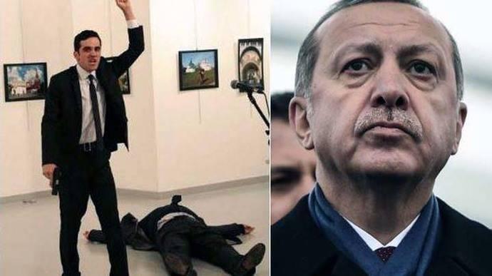El asesino de embajador ruso protegió al presidente turco 8 veces
