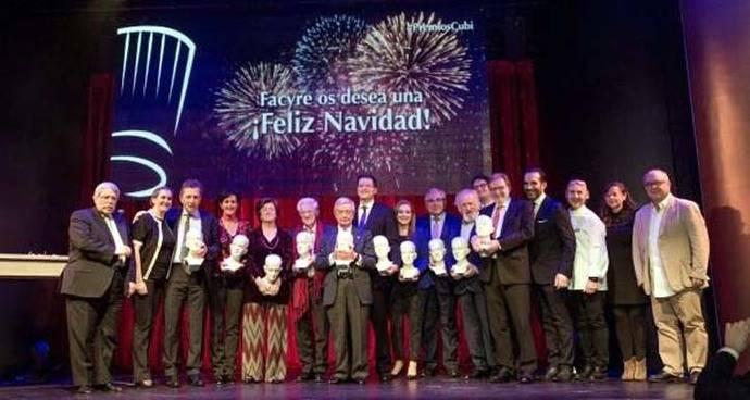 Premios Cubi Excelencia Gastronómica 2016