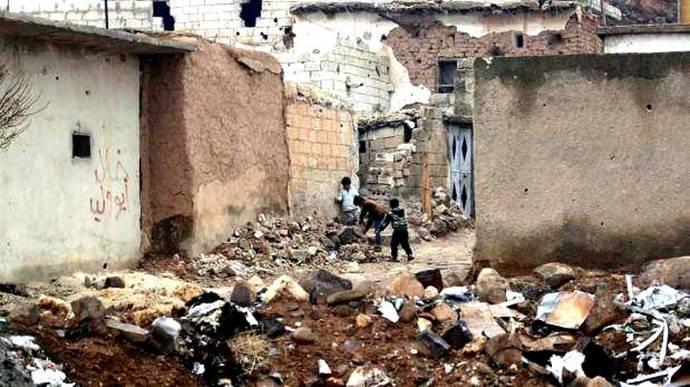 Rusia halló decenas de mutilados en fosas comunes en Alepo