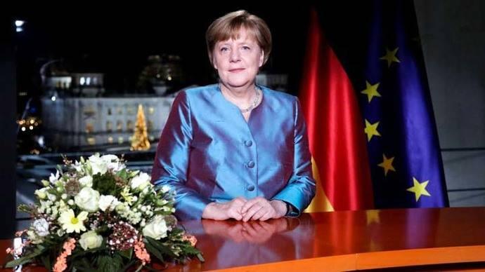 Merkel promete combatir el terrorismo en su mensaje de Año Nuevo