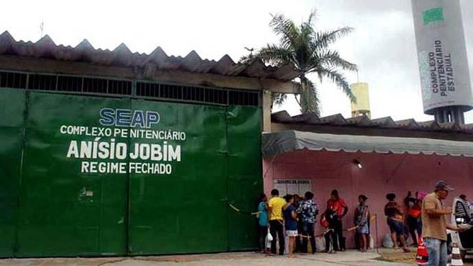 Brasil: 60 muertos en el motín de una cárcel de Manaos
