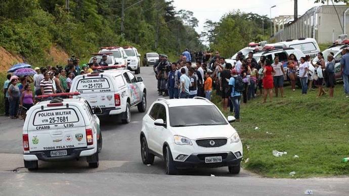 Trasladarán de prisión a cabecillas de motín en cárcel de Brasil