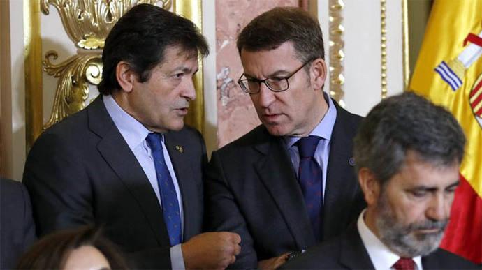 Javier Fernández propondrá una fecha para el Congreso del PSOE tras reunirse con los 'barones'