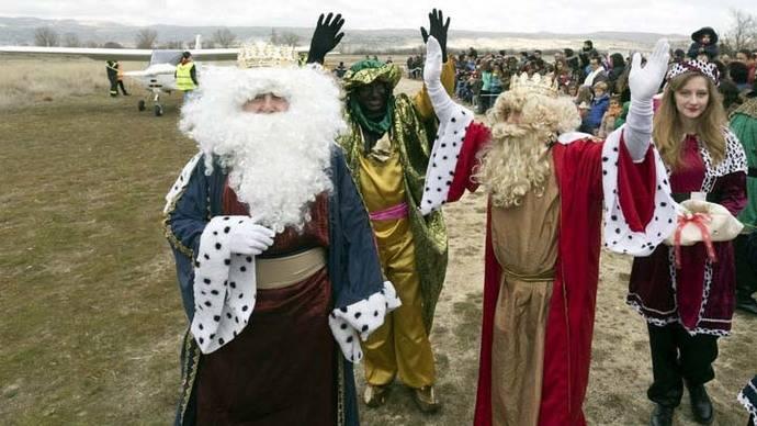 Los Reyes Magos recorrieron España bajo excepcionales medidas de seguridad