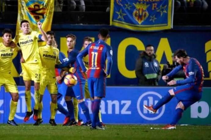 Barcelona rescató empate con golazo de Messi y quedó a cinco puntos de Real Madrid