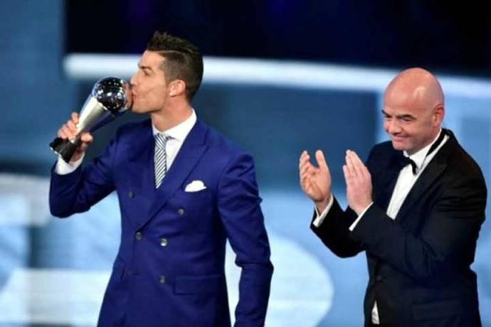 """Cristiano Ronaldo, primer """"The Best"""" de la Fifa"""