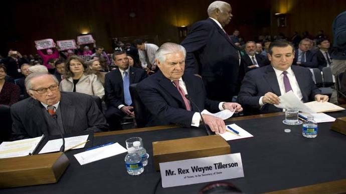 El nominado a secretario de Estado, Rex Tillerson, afirma que Rusia es un 'peligro' para EEUU