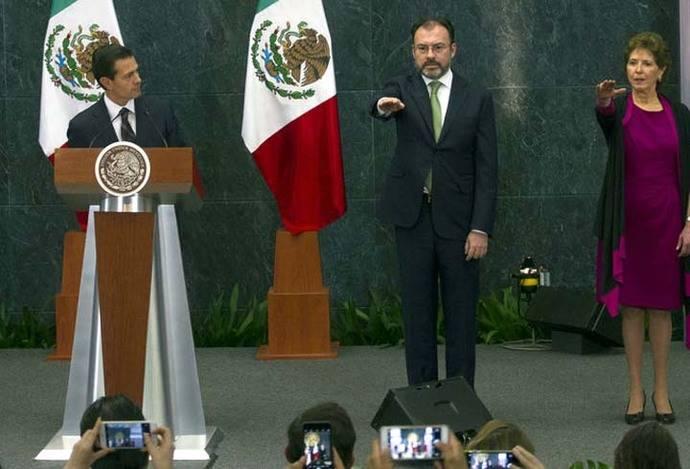El canciller mexicano, Luis Videgaray en una imagen de archivo