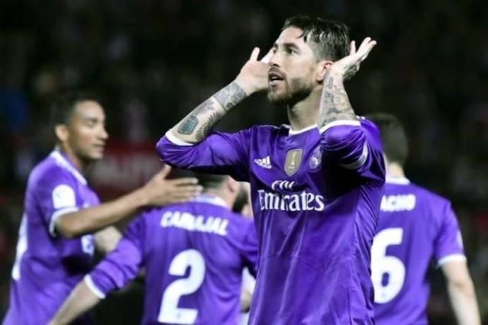 El defensa Sergio Ramos fue el autor del segundo gol
