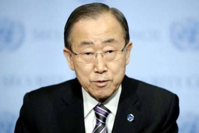 Ban Ki-moon insinúa aspiraciones presidenciales en su retorno a Corea del Sur