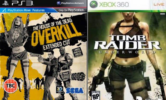 La mujer aparece como un objeto sexual en las carátulas de los videojuegos