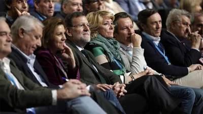Rajoy y dirigentes del PP en una imanten de archivo