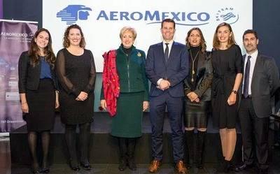 AEROMÉXICO presenta su nuevo Boeing 787-9 Dreamliner –Quetzalcóatl- en España