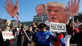 Equipo de Trump valora trasladar ruedas de prensa fuera de la Casa Blanca
