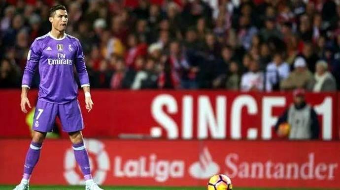 Cristiano Ronaldo alcanzó histórico récord en el fútbol español