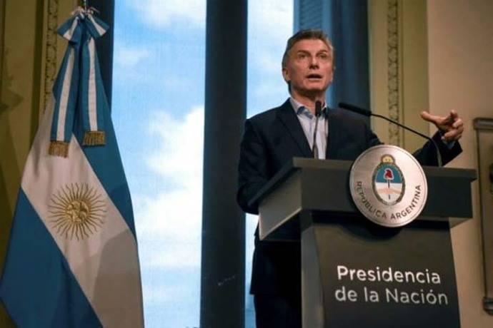 Presidente argentino Mauricio Macri: 'El fútbol de nuestro país está en crisis terminal'