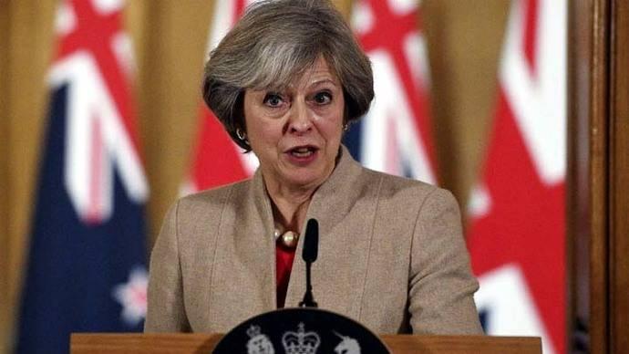 Theresa May anuncia que Reino Unido no será socio parcial de la UE
