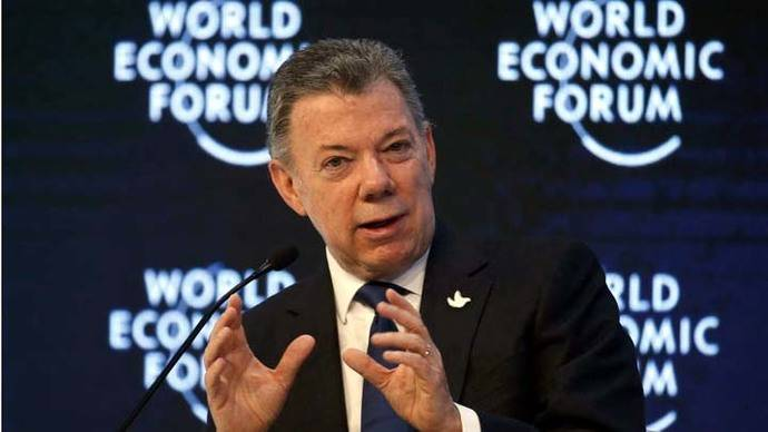 Santos anuncia un acuerdo con la guerrilla del ELN para iniciar negociación