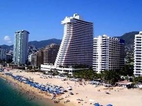 Playa de Acapulco.