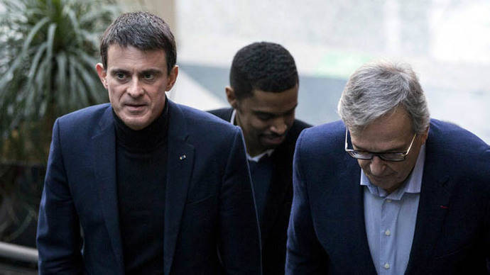 Hamon y Valls lideran las primarias por los socialistas en Francia