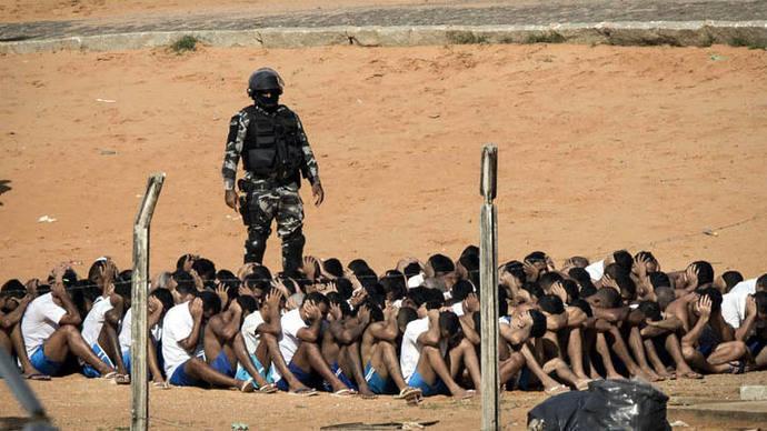 152 presos se fugan de una cárcel de Sao Paulo tras un motín