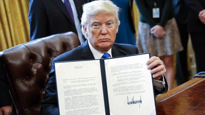 Trump relanza construcción de dos oleoductos paralizados por Obama