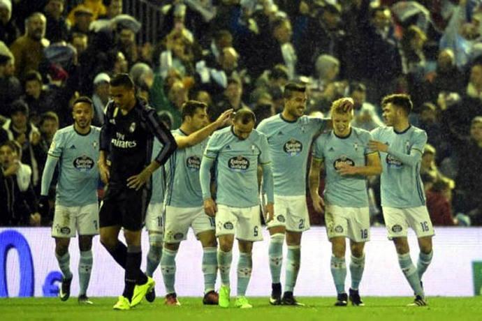 Real Madrid, eliminado de la Copa del Rey a manos del Celta