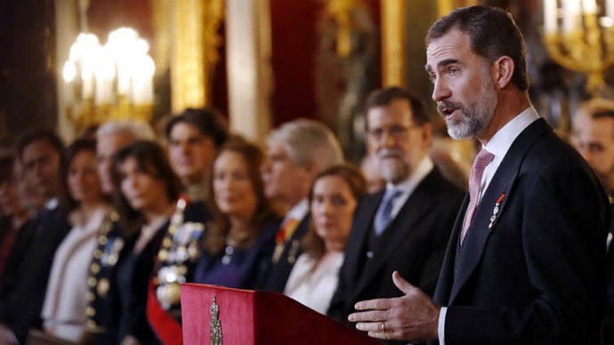Felipe VI desea que España trabaje con Trump al igual que con Obama