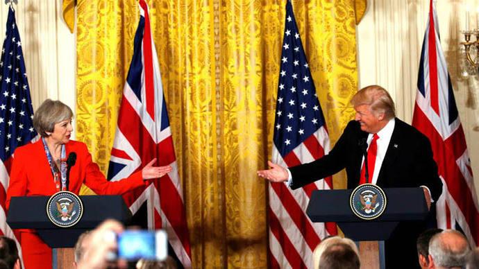 Para Trump el Reino Unido recobrará su propia identidad con el Brexit