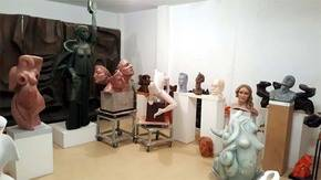 Miguel Fuentes: Donación de escultura al Museo Mayte Spínola en Marmolejo