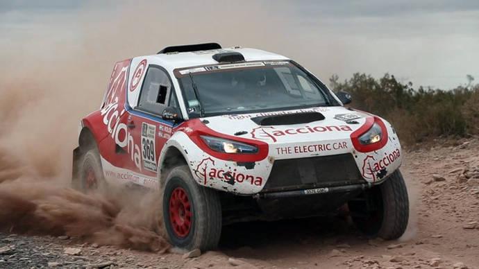Acciona 100% EcoPowered, el primer coche eléctrico en completar el Rally Dakar