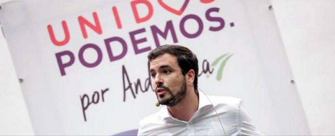 Alberto Garzón se queja formalmente por la utilización de IU en los debates de Podemos