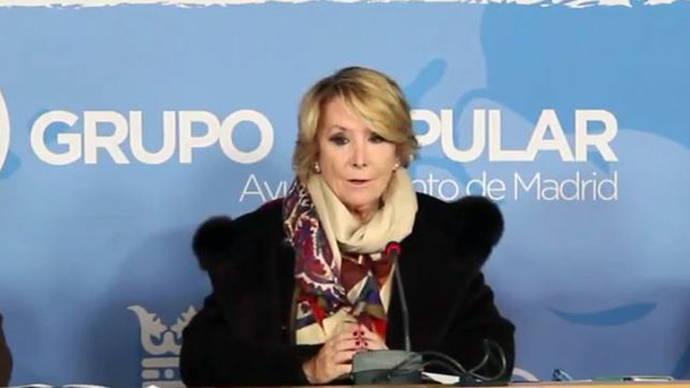 Aguirre huye de polémicas internas con la presentación de seis enmiendas sobre Educación en el Congreso del PP